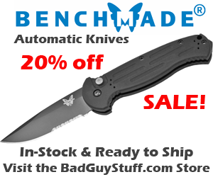 benchmade automatic knives sale