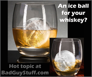 whiskey ice ball