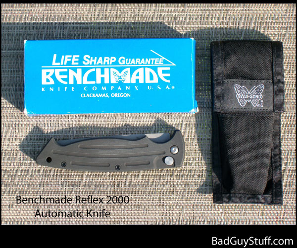 Benchmade 2000 Reflex Automatic Closed