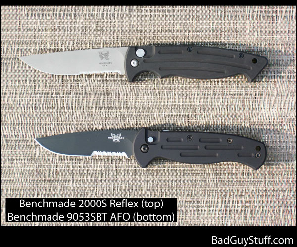Benchmade 2000 Reflex versus 9050 9053 Automatic Knife