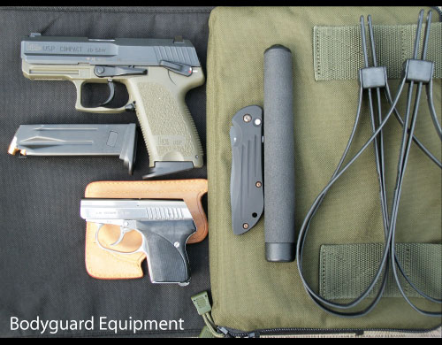 Bodyguard Equipment